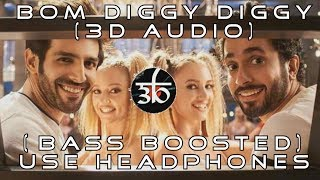 3D Audio | Bom Diggy Diggy | Bass Boosted | Zack Knight | Jasmin Walia | Virtual 3D Audio | HQ width=