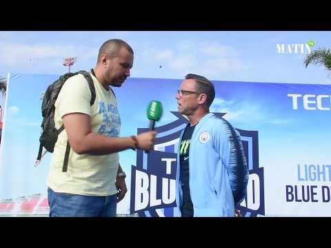 Video : Paul Dickov rencontre de jeunes footballeurs casablancais