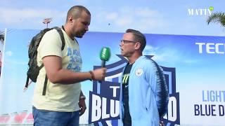 Paul Dickov rencontre de jeunes footballeurs casablancais