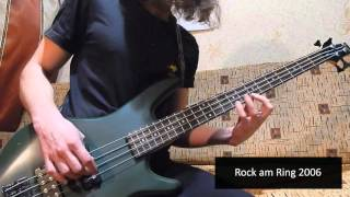 Tribute to Robert Trujillo: bass solo cover medley