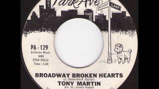 TONY MARTIN - BROADWAY BROKEN HEARTS