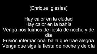 Enrique Iglesias - Noche y Dia (feat. Yandel & Juan Magan) Lyrics