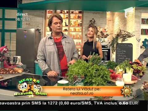 Reţeta lui Vladutz: Prietenia, o combinaţie excelentă între pui şi salată verde