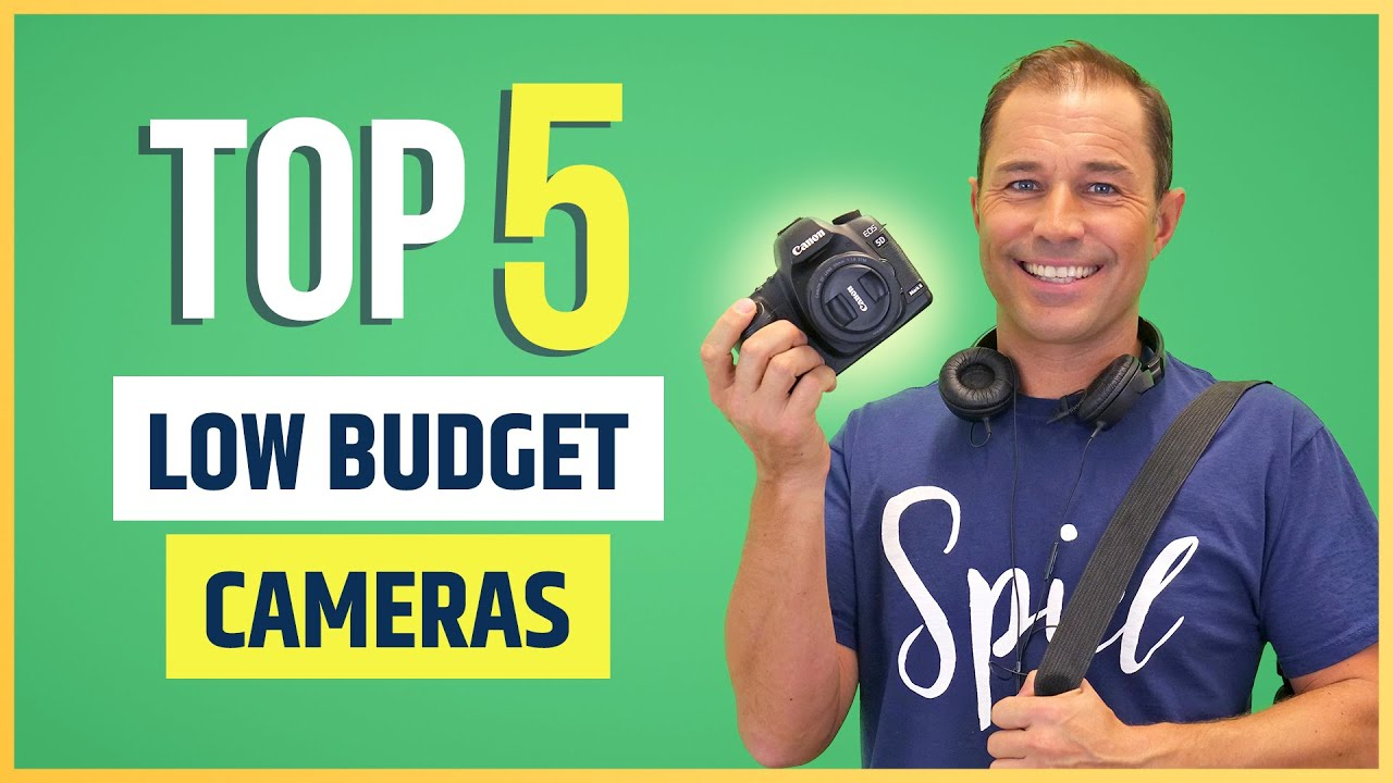 Top 5 Video Cameras For YouTube (Under $600!)