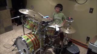Ky Ngo 10 years old Drummer. Take The A Train (Duke Ellington).