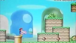 NEW Super Mario Bros Wii ChEaTs WorLd   1  To  WorLd   5  +  SecReT CanNoN