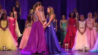Crowning: Preteen Miss Princess of America 2017-Faith Moise