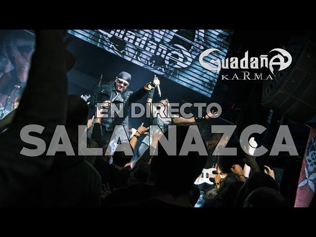 Guadaña en directo en la Sala Nazca de Madrid (2017)