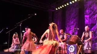 TE VAKA - PATE MO TOU VAE (Live) Pacific Island drums and dance