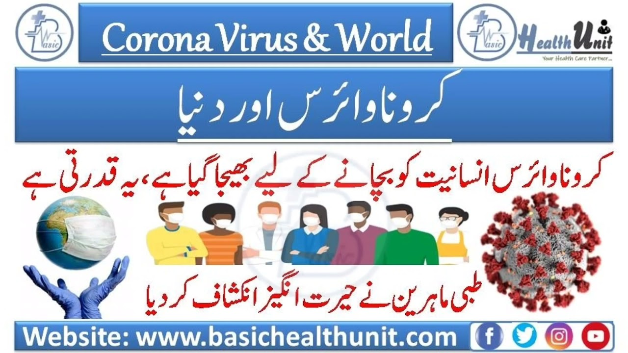 Useful Information About Corona Virus || Covid-19 In English & Urdu/Hindi