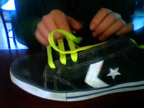 How To Bar Lace Your Shoes