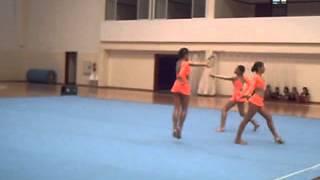 Torneio do fedelho e regionais - Escola da Calheta Trio Feminino Acrobática N3   11-5-2007