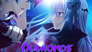 Nightcore~ Diamonds -Rock Version-