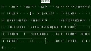 5.為錢賭生命(芸道一代)(Bb)伴奏-(簡譜)