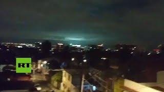 El insólito fenómeno aéreo registrado en México