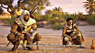 Assassin's Creed Origins - Bayek + Aya Speaking Last Time & Birth of Assassins Creed