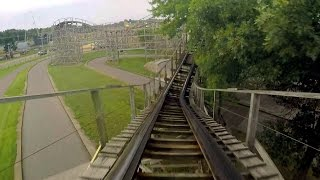 Pegasus front seat on-ride HD POV @60fps Mt. Olympus Water & Theme Park