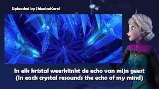 Frozen - Let It Go [Dutch/Nederlands] Subtitles + Translation
