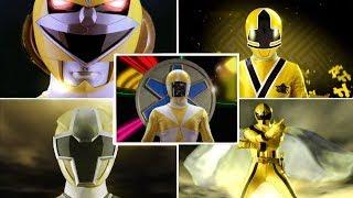 Top 10 Yellow Ranger Morph Sequences | Power Rangers Morphs | Superheroes | Ninja Steel