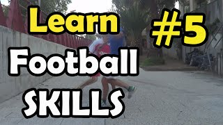 Learn Football Skills 5# - The Blind & The Razor Tutorial | FreeKicksPT