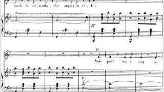 """Camille Saint-Saëns - """"Danse Macabre"""" for voice and piano (audio + sheet music)"""