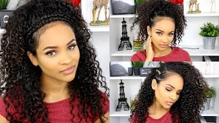 Peachy Download Video 6 Quick And Simple Ways To Style Curly Hair Short Hairstyles Gunalazisus