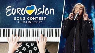 Eurovision 2017 WINNER || PORTUGAL - Amar Pelos Dois - Salvador Sobral || Piano Cover
