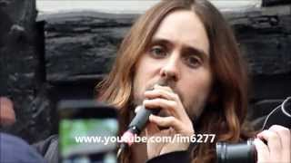 30 Seconds to Mars - Kings and Queens - Flash Show - London Soho Square May 30 2013