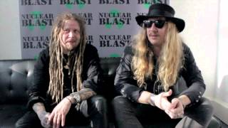 KORPIKLAANI - Jonne and Cane discuss the new album title (OFFICIAL INTERVIEW)