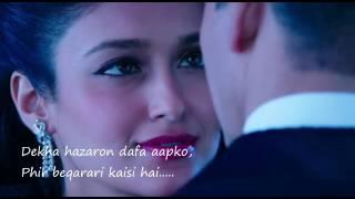 Dekha Hazaro Dafa Lyrics - Rustom | Arijit Sing whatsapp status
