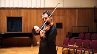 Ilya Gringolts suona il Capriccio n.20 di Niccolò Paganini