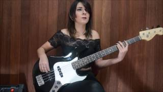 Psycho Killer - Bass Cover by Andressa Kaam
