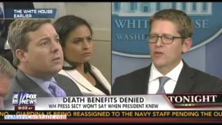 White House knew several days ago military families were being denied benefits