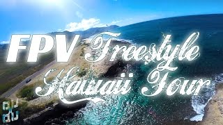 QuadQuestions QQ190 Racing Drone Freestyle Hawaii FPV tour 2016 days 1-2