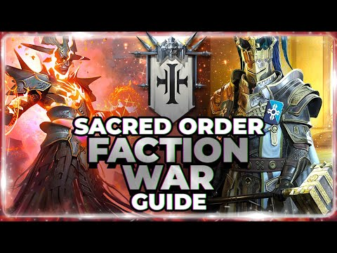 SACRED ORDER Faction Guide! ALL Champs Graded | Stage 21 Auto 3 Star! RAID Shadow Legends
