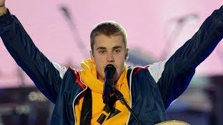 Justin Bieber Cries At Ariana Grande One Love Manchester Concert