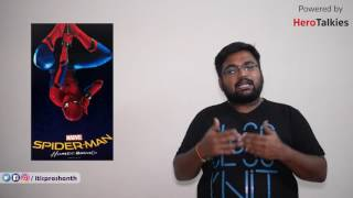 Spider Man Homecoming review by prashanth