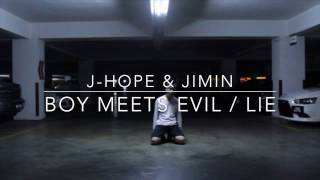 J-Hope & Jimin - Boy Meets Evil / Lie (MAMA Perf.) | Dance Cover. by Leo