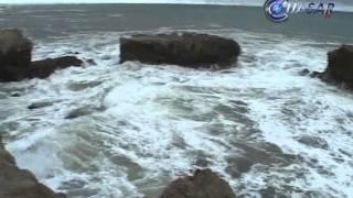 Cierran navegación marítima en Puerto Michoacano por intensas lluvias.