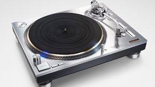 Technics SL-1200G Limited Edition Turntable + Technics EAH-T700 headphones!
