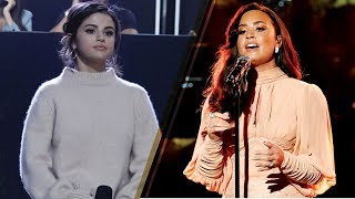 Selena Gomez & Demi Lovato AVOID Each Other at One Voice Somos Live Disaster Relief Telethon