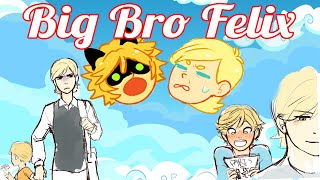 Big Bro Felix [Miraculous Ladybug Comic Dub]