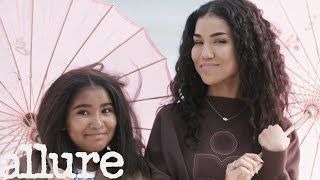 Jhené Aiko and Her Daughter Namiko Try 9 Things They've Never Done Before  | Allure