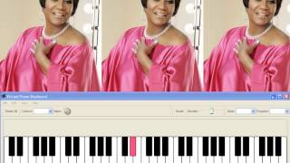 If Only U knew (Patti LaBelle) in the key of E (midi by JT) small clip