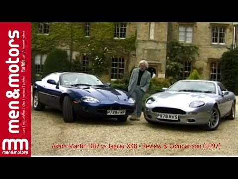 Aston Martin DB7 and Jaguar XK8