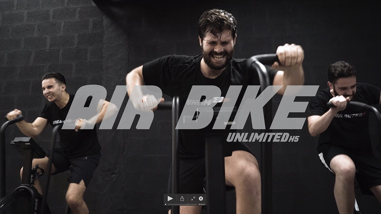 Vídeo YouTube Unlimited H5 Air Bike
