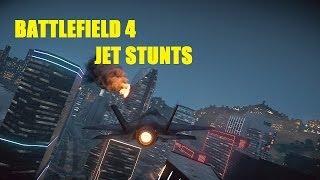 Only in Battlefield 4 - Jet Stunts