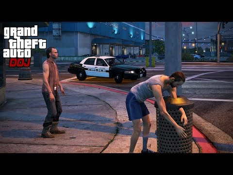 Download Video GTA 5 Roleplay - DOJ 414 - Homeless Life