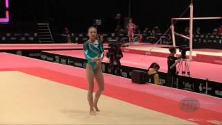 KALAMAROVA Radoslava (SVK) - 2015 Artistic Worlds - Qualifications Floor Exercise