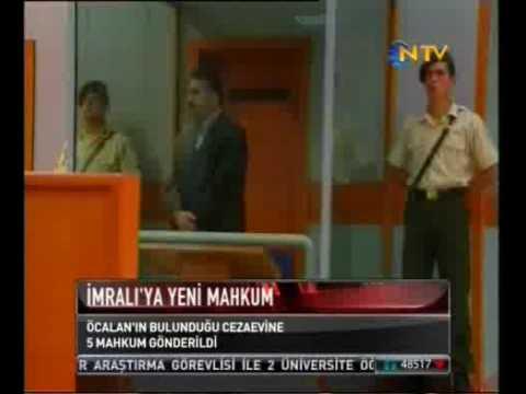 AKP TERÖRİST BAŞI ÖCALAN SIKILMASIN DİYE  İmralıya 5 Mahkum Gönderdi, İmralı Açılımı